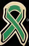 Logo Branded Organ Donor Awareness Ribbon Bookmark