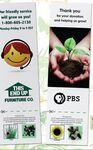 Sprout Tyme Bookmark w/ Seeds Logo Branded
