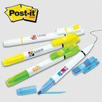 Post-it® Trio Series Flag+ Pen and Highlighter Combo Logo Printed