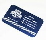 Gold - Silver - Color - Aluminum Business/ Membership Card - Laser Engraved Custom Printed