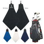 Triangle Fold Golf Towel Custom Imprinted