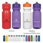 24 Oz. Poly-Clear™ Fitness Bottle Custom Imprinted