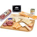 Custom Imprinted Charcuterie Favorites Board With Meat & Cheese Set