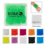Promotional,Custom Imprinted Square Gel Beads Hot/Cold Pack