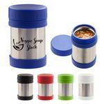 Custom Imprinted 12 Oz. Stainless Steel Insulated Food Container
