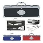 Logo Branded BBQ Set In Aluminum Case
