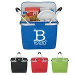 Logo Branded Picnic Fun Collapsible Kooler Basket