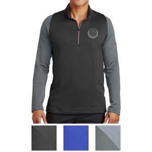 Custom Imprinted Nike Golf Dri-FIT Stretch 1/2-Zip Cover-Up