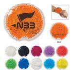 Small Round Gel Beads Hot/Cold Pack Custom Printed