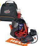 Custom Imprinted Ultimate Roadside Safety Kit Black