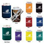 Custom Branded Collapsible Foam Can Holder - 2 Sided
