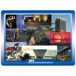 "6"" x 8"" x 1/8"" Full Color Hard Mouse Pad Logo Branded"