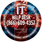 "Custom Imprinted 8"" Rd 1/8"" Thick Full Color Hard Mouse Pad"
