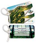 Personalized Bag & Luggage Tag - Rectangle RC - Full Color - Poly Laminated Custom Imprinted