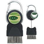 Golf Club Brush with Ball Marker Custom Branded