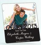 "Promotional Save The Date Rectangle Magnets (3 1/2""x4"")"