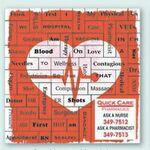 Heart Health Message Magnets Logo Branded
