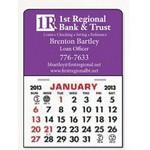 Custom Imprinted Stick It Magnet Calendar Pads - Rectangle w/Rounded Corner