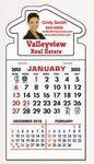 Logo Printed Stick It Calendar Pads - House Decal