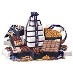 "Promotional ""Park Avenue"" Ultimate Tower of Treats in Navy"