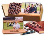 Custom Printed Photo Frame with Milk Chocolate Almonds
