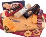Wisconsin Variety Package with Bamboo Cutting Board Custom Printed