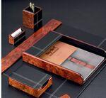 Six Piece Desk Set