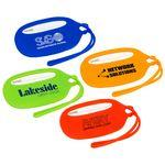Custom Printed Durable Silicone Luggage Tag