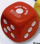 Logo Branded Dice Stress Reliever