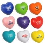 Custom Printed Valentine Heart Stress Ball