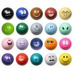 Emoticon Stress Ball Custom Printed