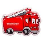 Personalized Fire Truck Hot/Cold Pack