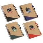 Custom Printed Recycle Write Notebook & Pen