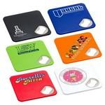 Custom Imprinted Econo Bottle Opener Coaster