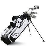 Logo Printed Ladies Solaire 13 Piece Set (RH) black - Sport (Stand Bag)