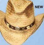 Burn Straw Western Hat Personalized