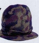 Camouflage Cuffed Knit Cap w/Visor Custom Imprinted