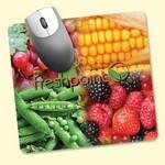 "Logo Branded ReTreads® 7.5""x8""x3/32"" Recycled Hard Surface Mouse Pad"