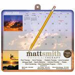Logo Branded MousePaper® Calendar 12 Month Recycled Note Paper (Landscape) Mouse Pad