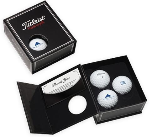 titleist presentation The perfect gift for your corporate clients or participants at your next event this handsome titleist gift box features pro v1 golf balls customized with your special message or logo great giveaway a.