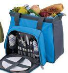 Toluca Insulated Cooler W/ Deluxe Picnic Service For 2 Custom Printed