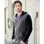 Alternative Eco Fleece™ Rocky Color Blocked Hooded Full-Zip Sweatshirt Custom Imprinted