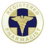Registered Pharmacist Pin Logo Printed