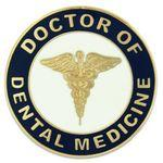 Custom Imprinted Doctor of Dental Medicine Pin