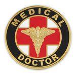 Medical Doctor Pin Custom Imprinted