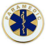 Branded Paramedic Lapel Pin