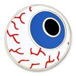 Eyeball Pin Custom Imprinted
