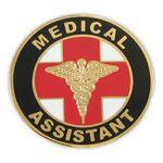Medical Assistant Pin Branded