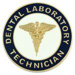 Dental Laboratory Technician Pin Branded