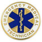Custom Imprinted Emergency Medical Technician Pin